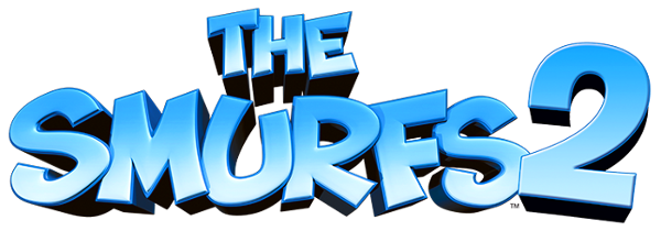 The Smurfs 2 logo